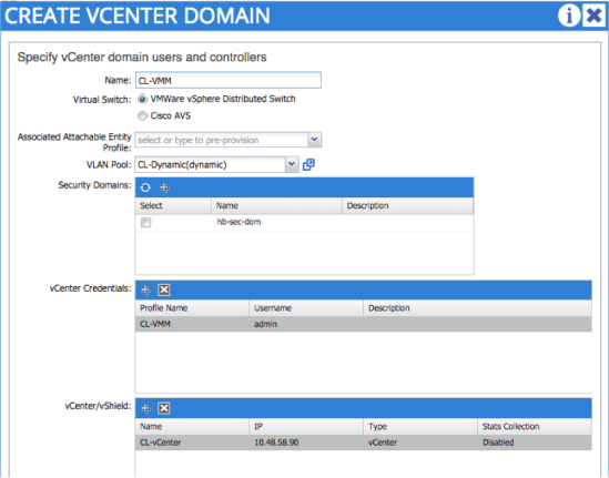 Create-VMM-Domain