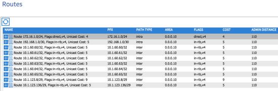 OSPF-Routes