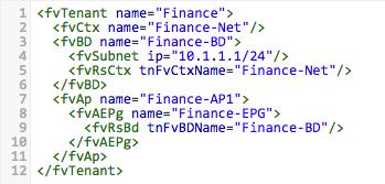 Tenant XML